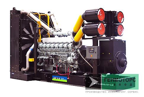 Дизельный генератор (электростанция) AKSA APD1650M