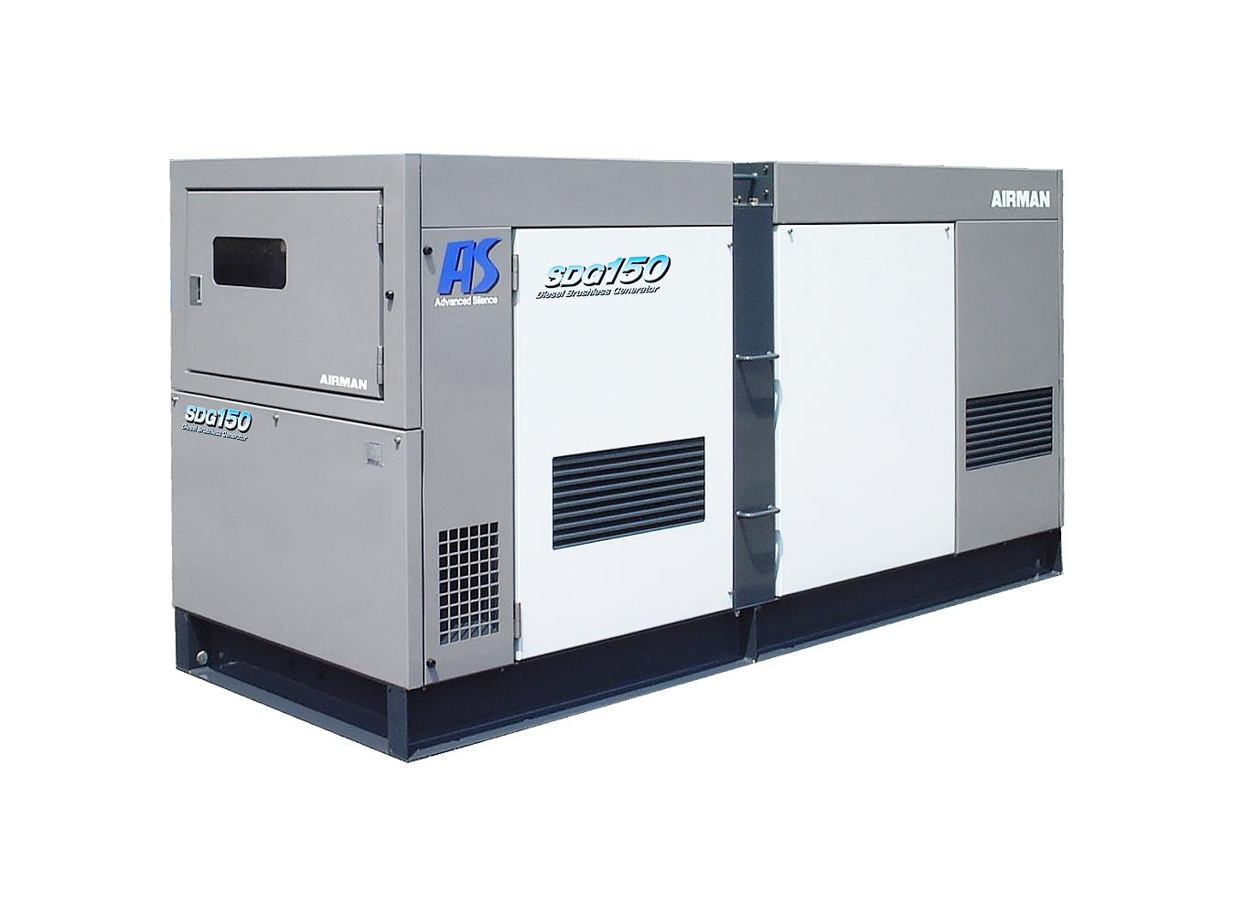 Дизельный генератор (электростанция) AIRMAN SDG150AS