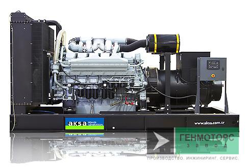 Дизельный генератор (электростанция) AKSA APD1100M