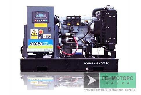 Дизельный генератор (электростанция) AKSA APD12A