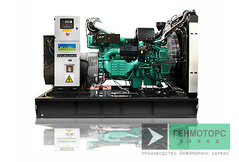 Дизельный генератор (электростанция) AKSA AVP505